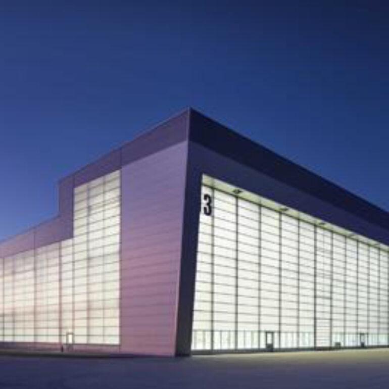 Flugplatz Wunstorf, Neubau Halle für Transportflugzeug A 400 M
